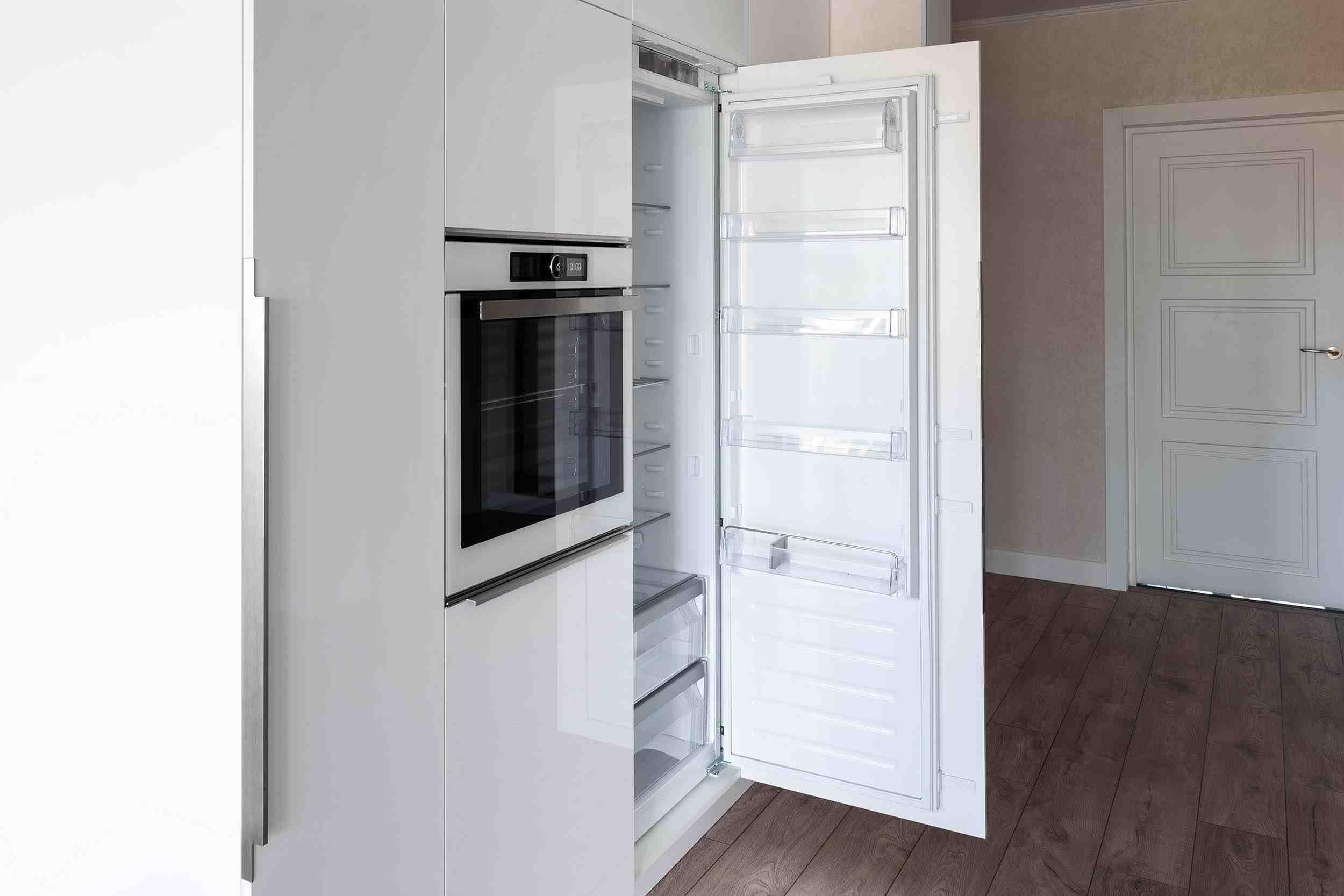Integrated Fridge | Concealed Appliances | Oasis Kitchen Cabinets