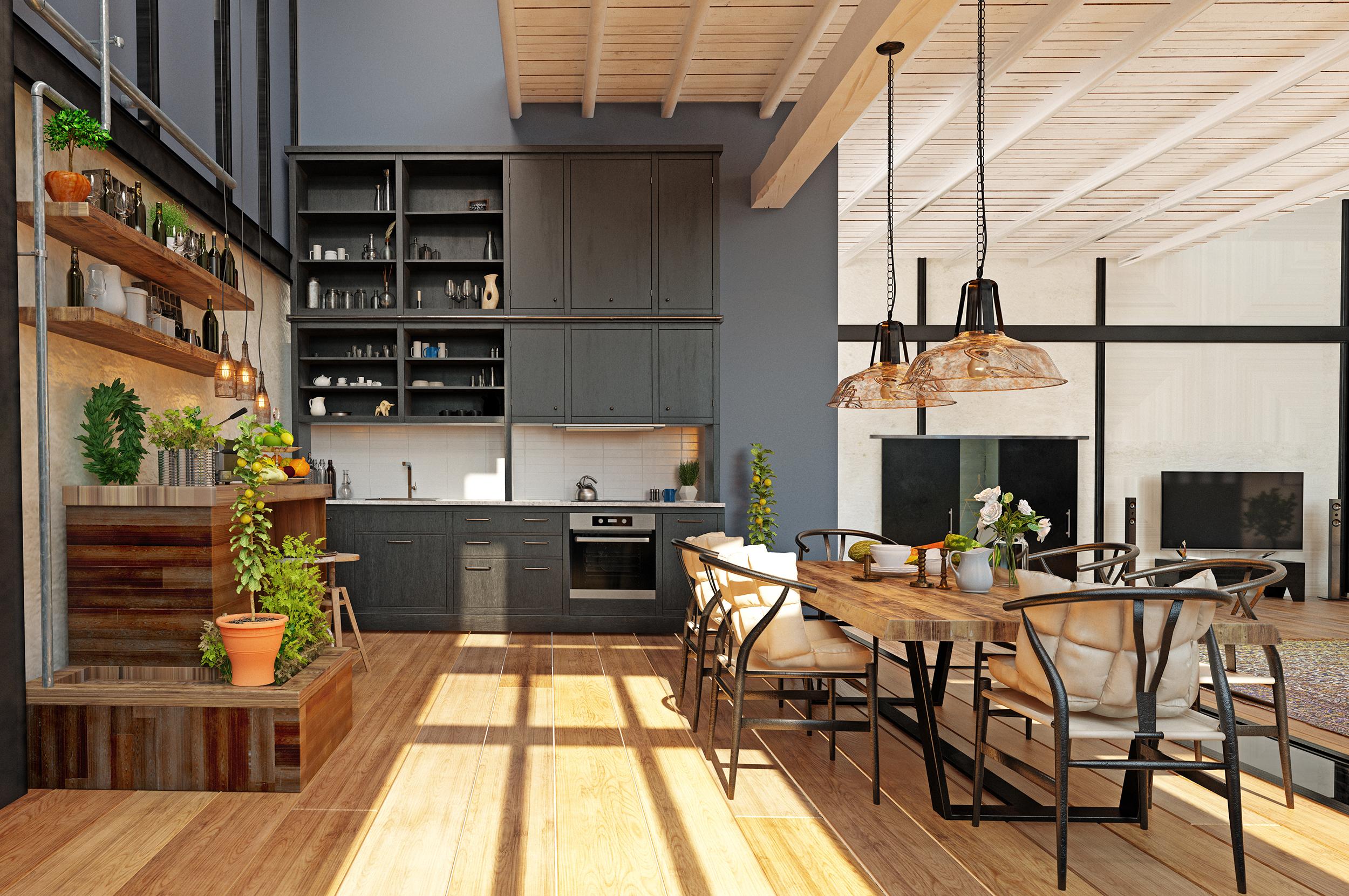 Kitchen Open Shelves Ideas   Oasis Kitchen Cabinets