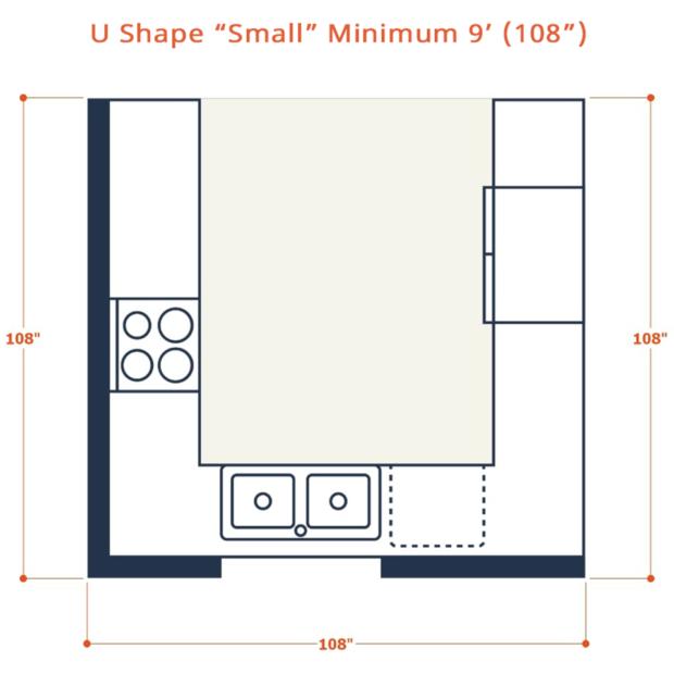 Web U shape small