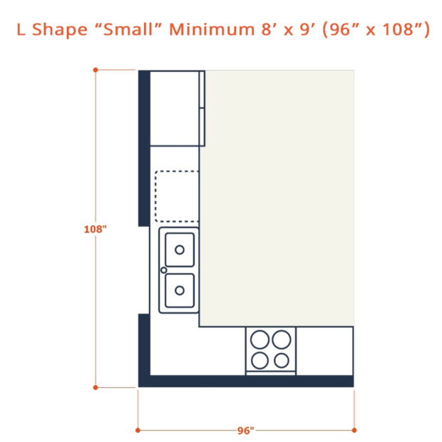 Web L shape small