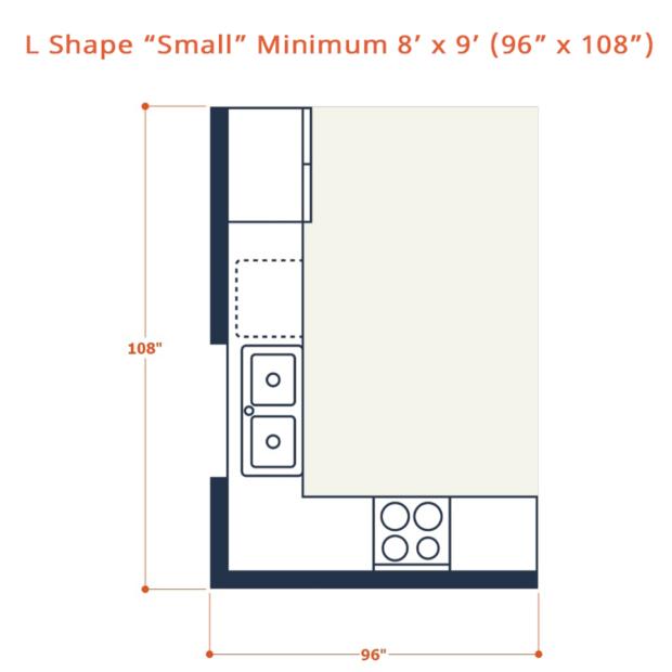 Web L shape small