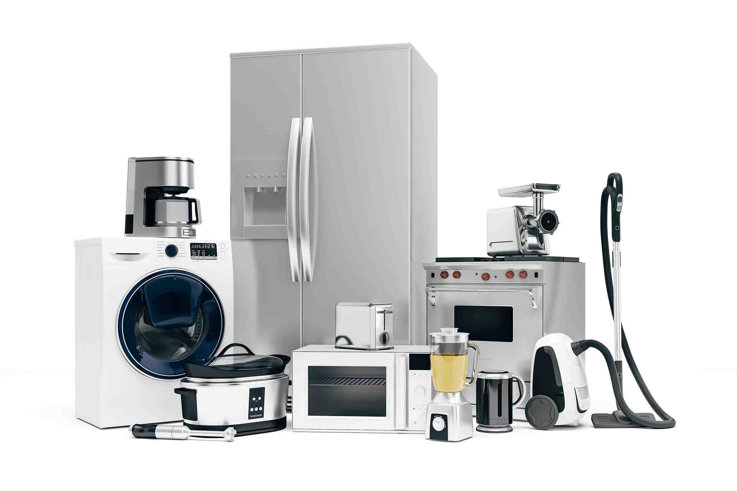 Kitchen Appliances for Your New Kitchen | Oasis Kitchen Cabinets