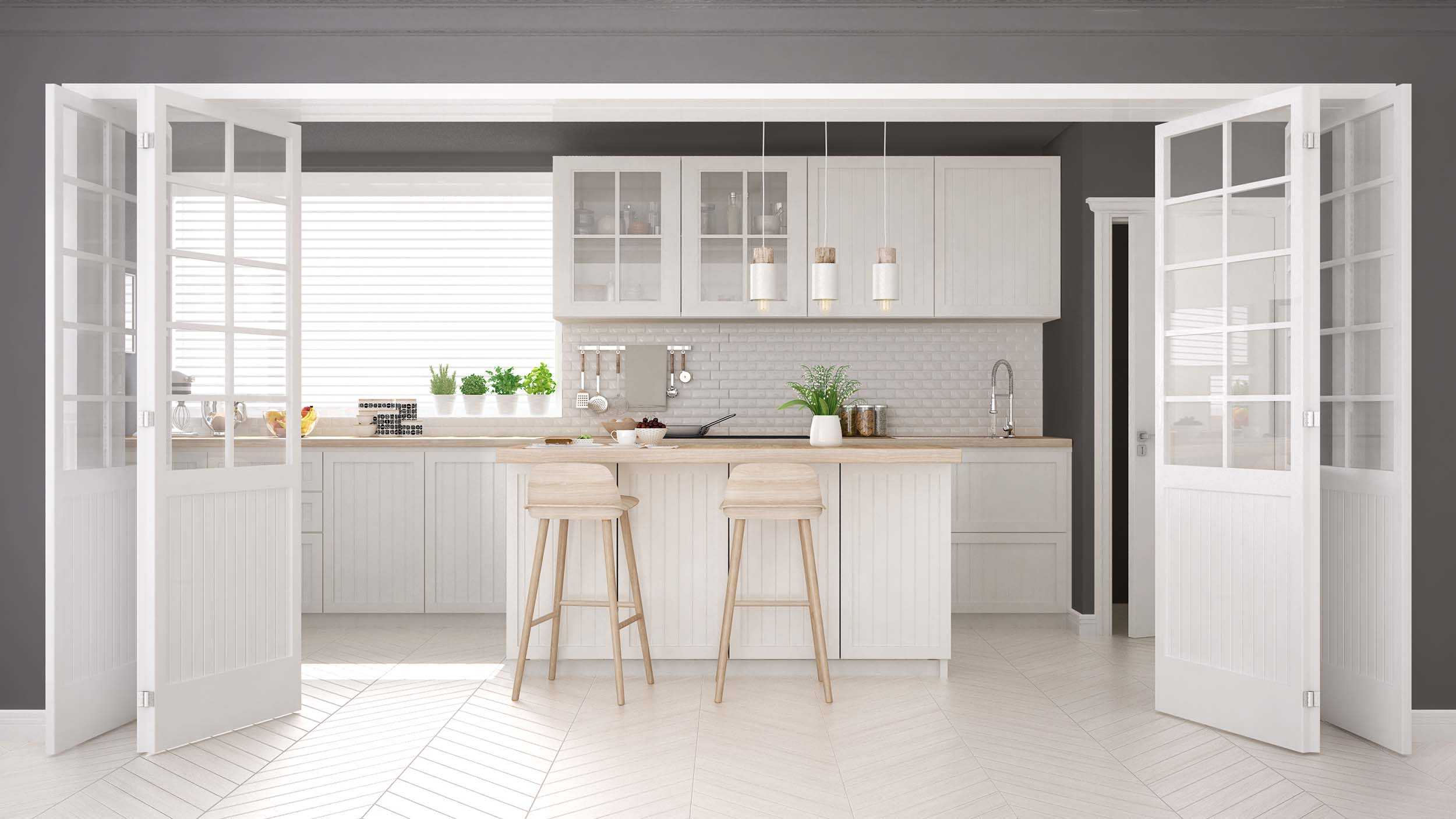 Classic White Kitchen Cabinet Ideas   Oasis Kitchen Cabinets